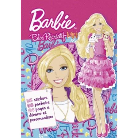 Bloc récréatif Barbie mini