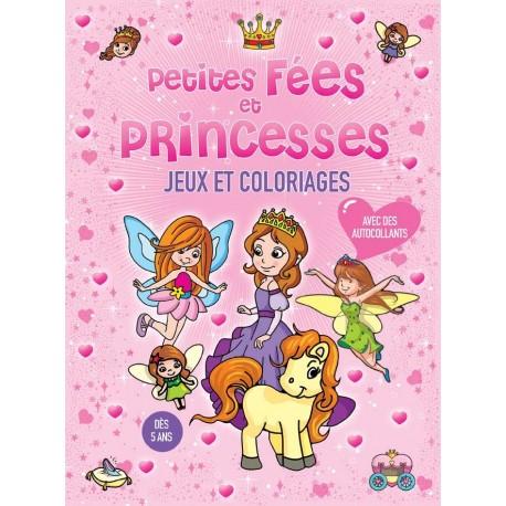Petites fées et princesses avec autocollants