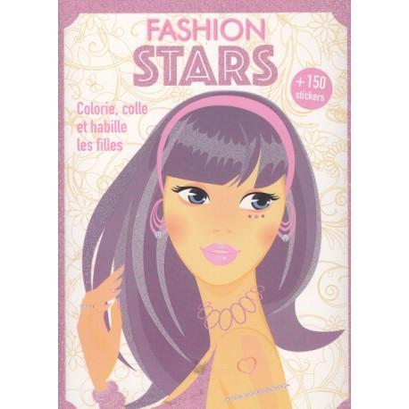 Fashion stars (mauve)