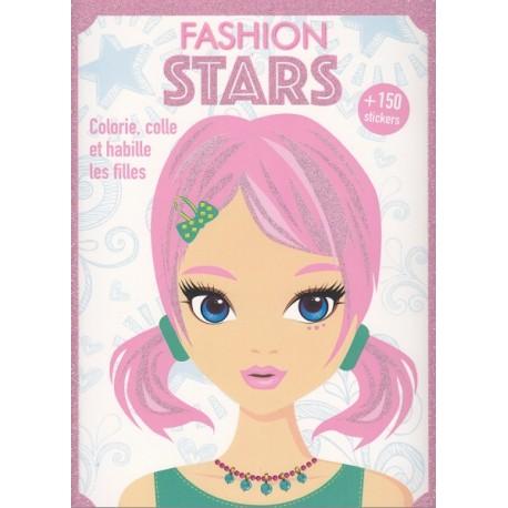 Fashion stars (rose)