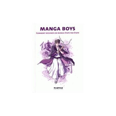 Manga Boys - Comment dessiner un manga étape par étape