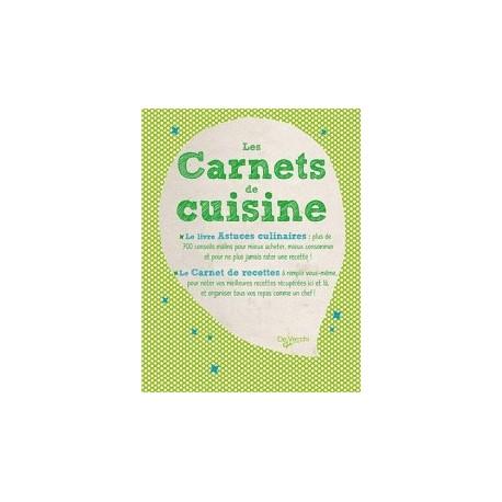 Les Carnets de cuisine - 2 volumes