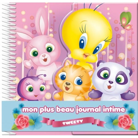 Mon plus beau journal intime Tweety et les animaux