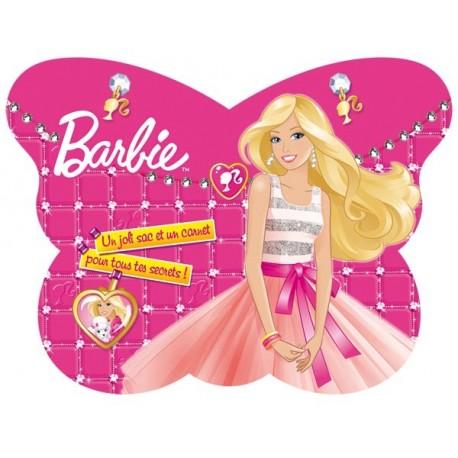 Mon joli sac papillon et un carnet Barbie