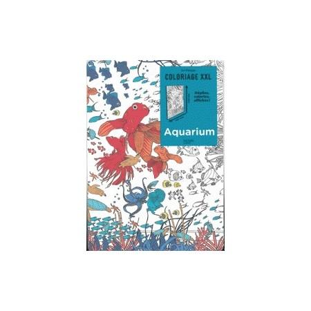 Coloriage XXL : aquarium