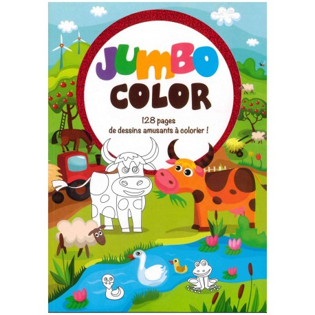 Jumbo color 128 pages