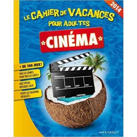 Cahier de vacances pour adultes Spécial Cinéma