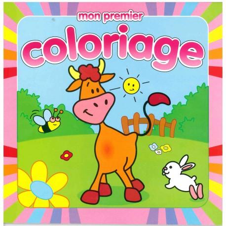 Mon premier coloriage vache