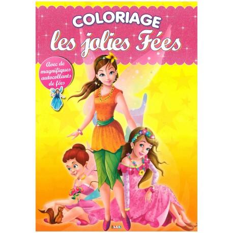 Coloriage Les jolies fées