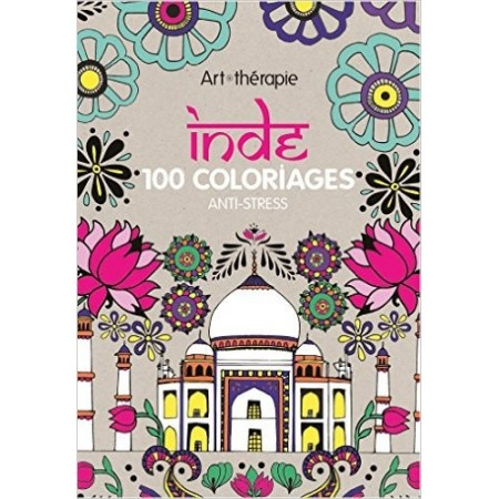 Inde - 100 coloriages anti-stress