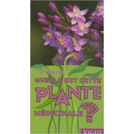 Quelle est cette plante médicinale ?