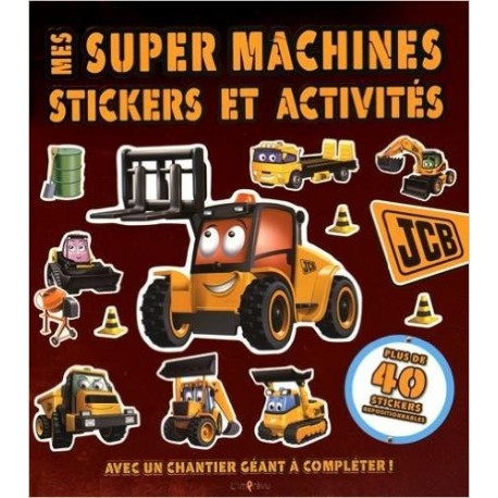 Mes super machines - Avec un chantier géant à compléter !