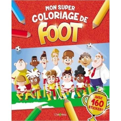 Mon super coloriage de foot