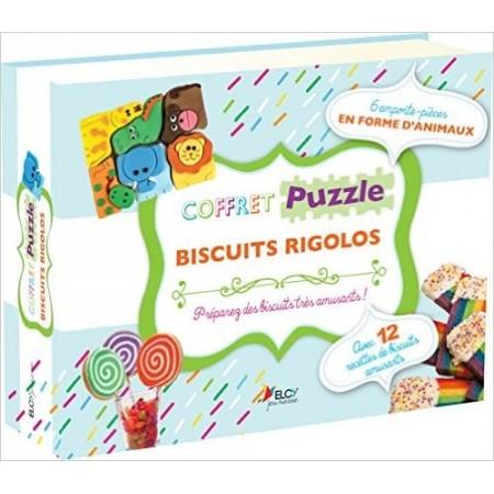 Coffret puzzle biscuits rigolos