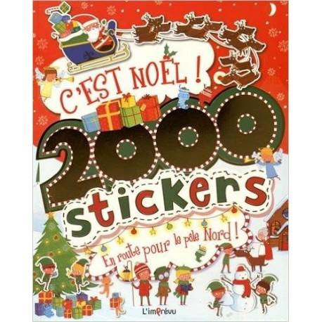 C'est Noël ! - 2000 stickers