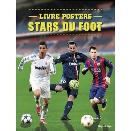 Livre posters stars du foot