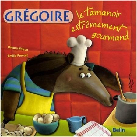 Grégoire le tamanoir extrêmement gourmand