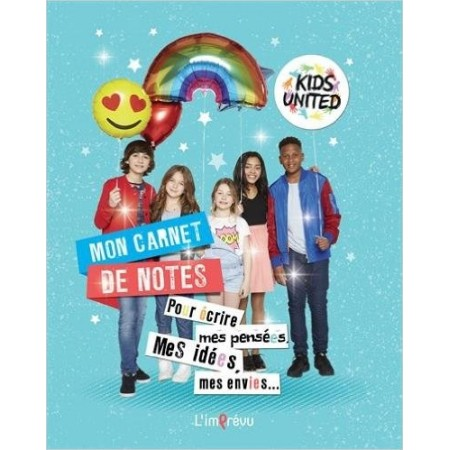 Mon carnet de notes Kids United