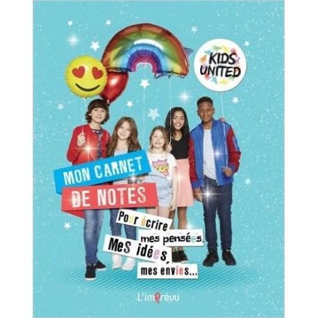 Mon carnet de notes Kids United