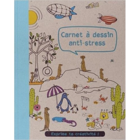 Carnet à dessin anti-stress