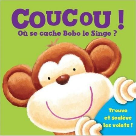 Coucou ! Où se cache Bobo le singe ?