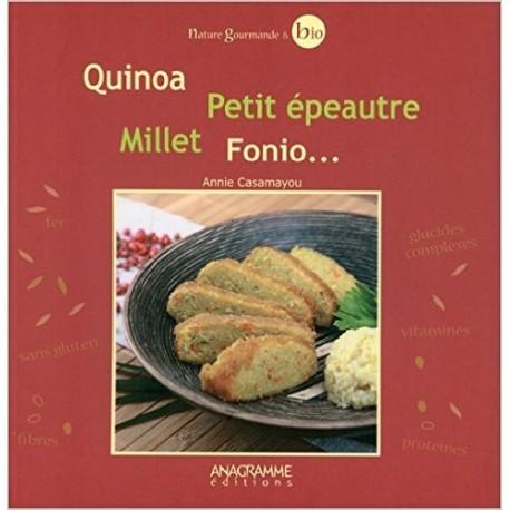 Quinoa, petit épeautre, millet, fonio