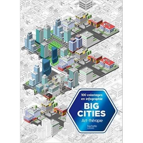Big cities - Coloriez en infographie