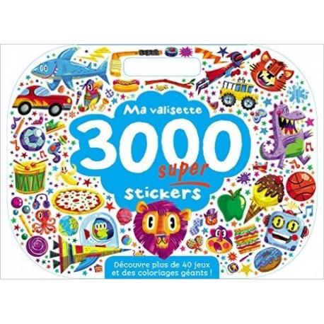Ma valisette 3000 super stickers