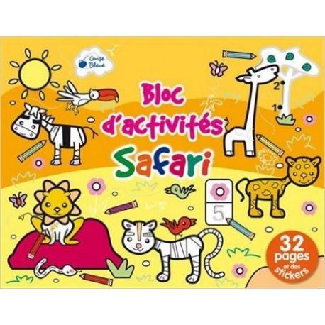 Safari bloc d'activités