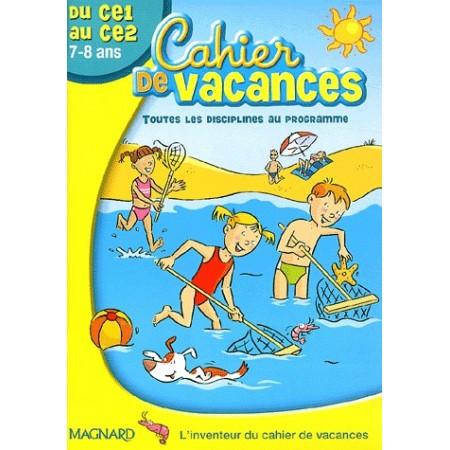 Cahier de vacances du CE1 au CE2
