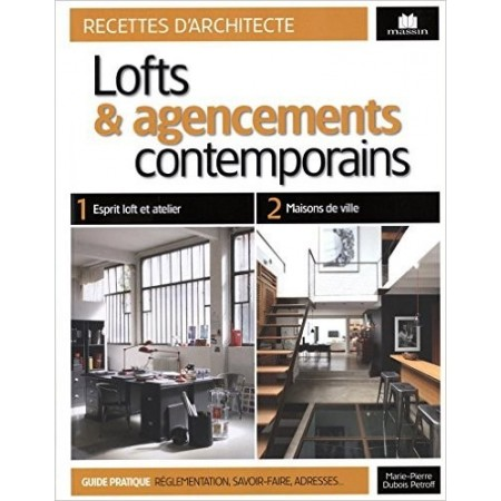 Lofts et agencement contemporains
