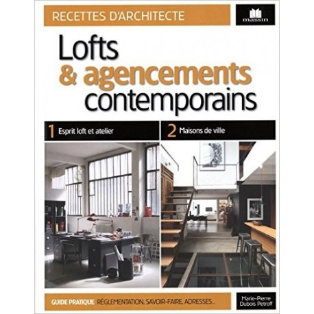 Lofts et agencement contemporains