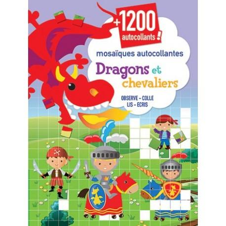 Dragons et chevaliers ( + de 1200 autocollants)