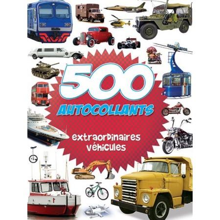 500 autocollants extraordinaires véhicules
