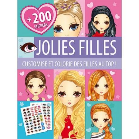 Jolies filles ( + de 200 stickers)