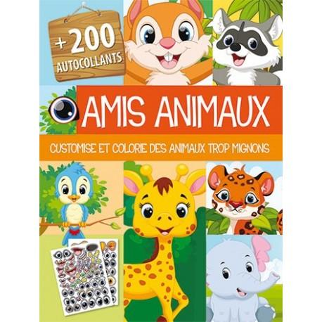 Amis animaux ( + de 200 stickers)