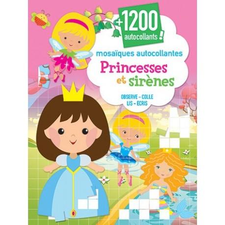 Princesses et sirènes ( + de 1200 autocollants)