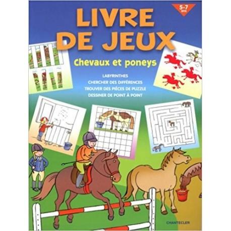 Livre de jeux - Chevaux et poneys 5-7 ans