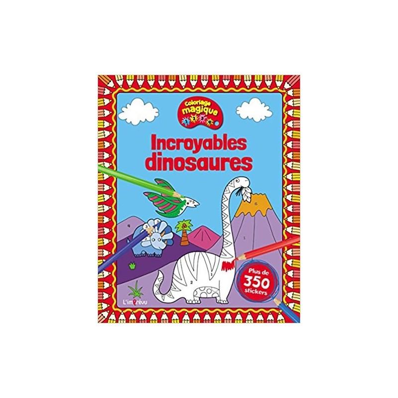 Jeux Coloriage Dinosaure.Activites Jeux Coloriages Incroyables Dinosaures 9791029503900