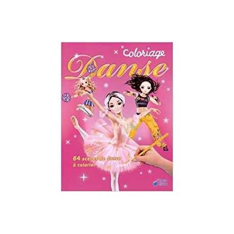 Coloriage Danseuse Ballet.Jeunesse Coloriage Danse 64 Scenes De Danse A Colorier Ean13