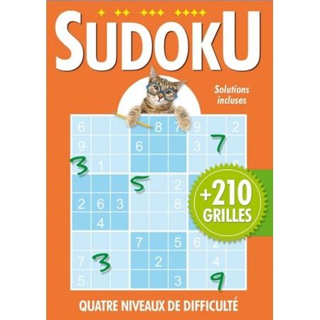 Sudoku (Orange) avec chat