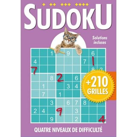 Sudoku (Violet) avec chat