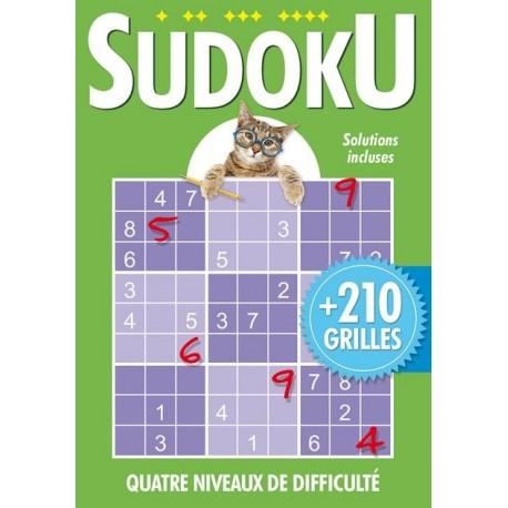 Sudoku (Vert) avec chat