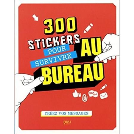 300 stickers pour survivre au bureau
