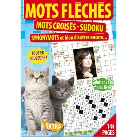 Mots fléchés, mots croisés, sudoku (chat)