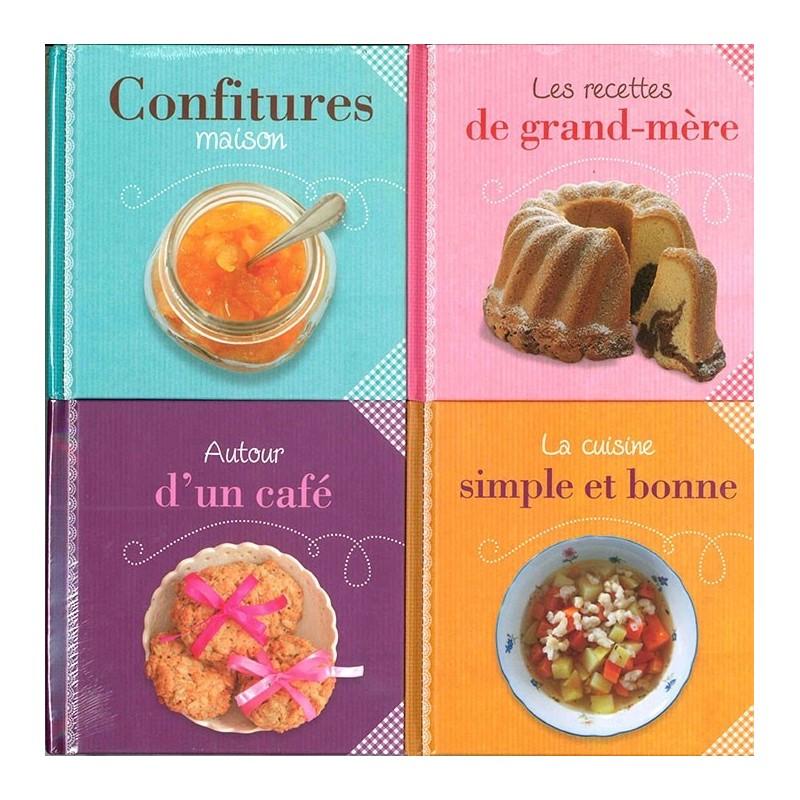 LIVRES Naturellement fait maison (coffret 4 livres), Livres pratiques, CUISINE - Maxilivres