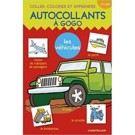 Autocollants à gogo - Les véhicules