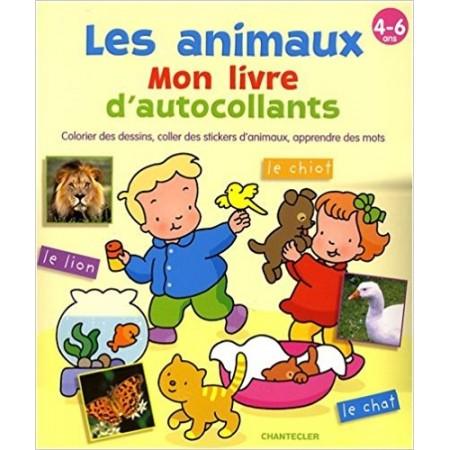 Les animaux : Mon livre d'autocollants