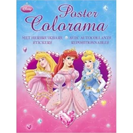 Poster Colorama Princesses Disney