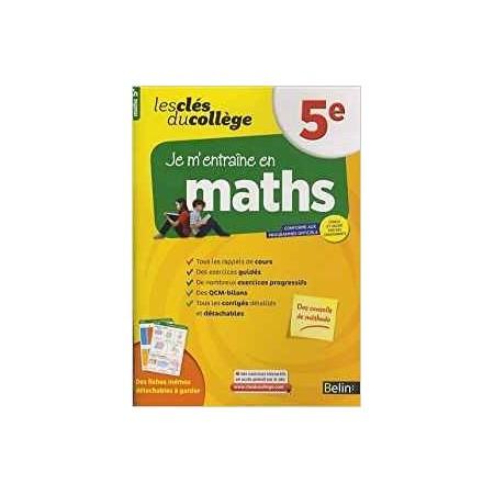 Clés du collège - Maths 5e